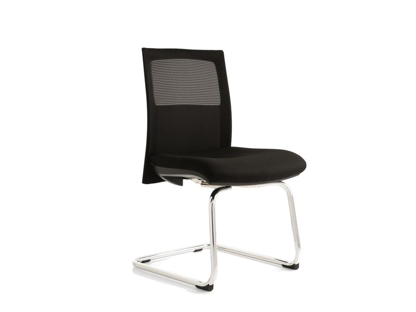 Cantilever training chair FLAT01 | Cantilever training chair by Emmegi