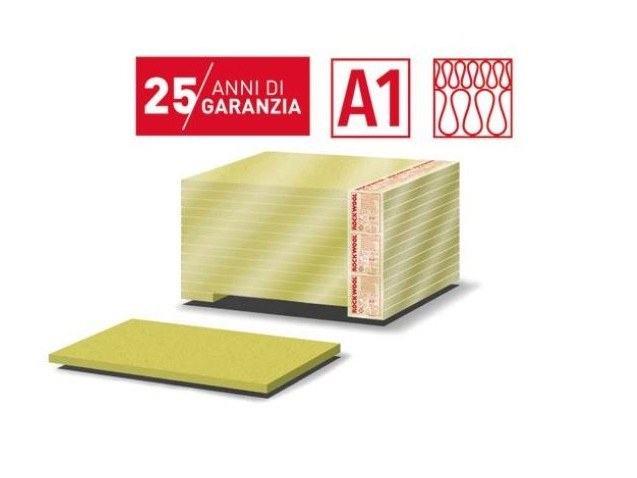 Rock wool Thermal insulation panel FLATROCK 60 by Rockwool Italia