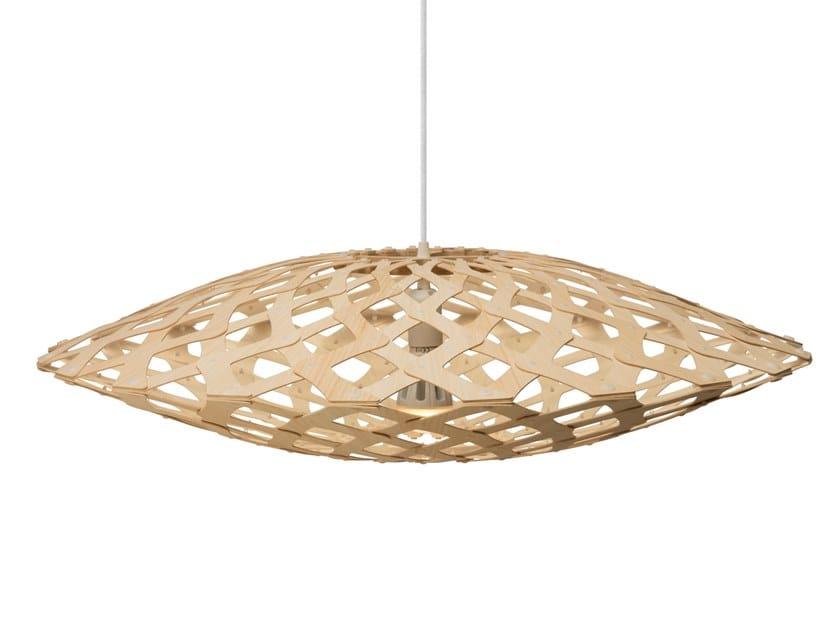 Pendant lamp FLAX | Pendant lamp by David Trubridge