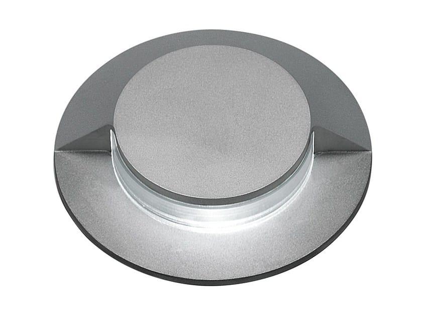 Segnapasso a LED in acciaio inox per esterni con dimmer FLEA C.T80 by Francesconi & C.