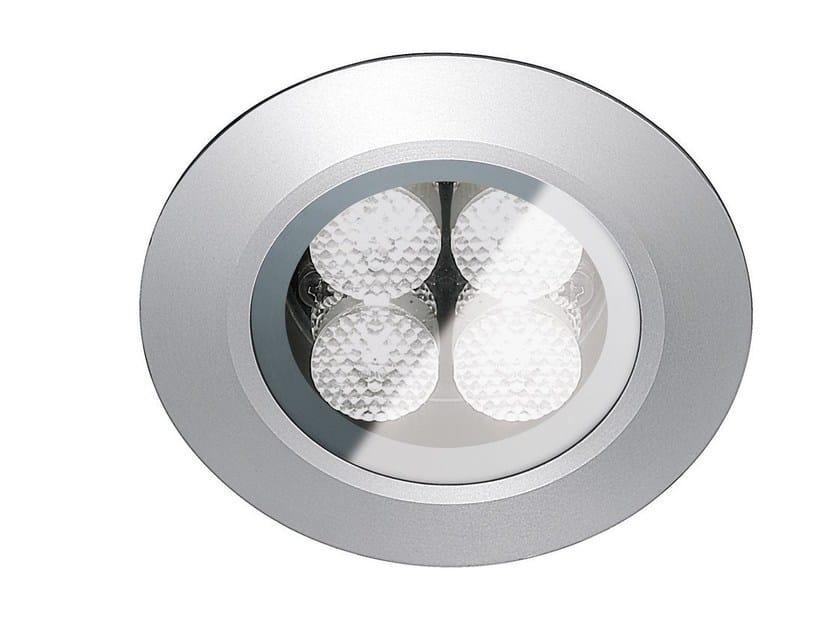 Faretto per esterno a LED da incasso con dimmer FLEA D.T80 by Francesconi & C.
