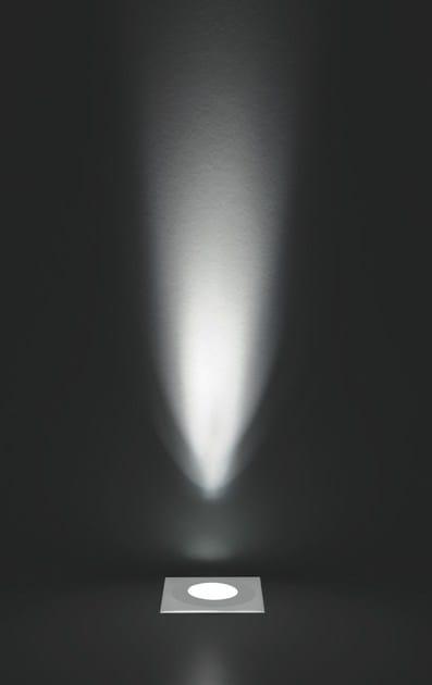 LED walkover light aluminium steplight FLEA F.867 by Francesconi & C.