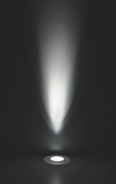 LED walkover light aluminium steplight FLEA F.872 by Francesconi & C.