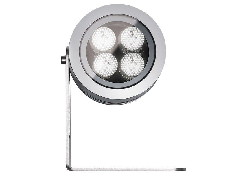 Proiettore per esterno a LED in alluminio con dimmer FLEA P.T65 by Francesconi & C.
