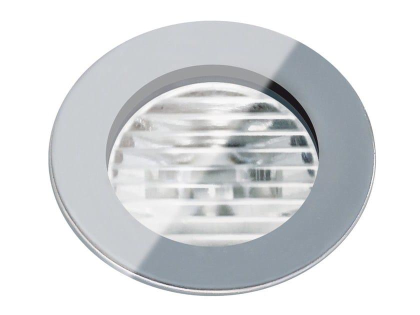 Segnapasso a LED a pavimento in vetro per esterni FLEA.T35 | Segnapasso in vetro by Francesconi & C.