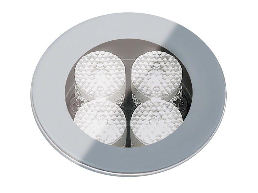 Segnapasso a LED a pavimento in vetro per esterni FLEA.T80 | Segnapasso in vetro by Francesconi & C.