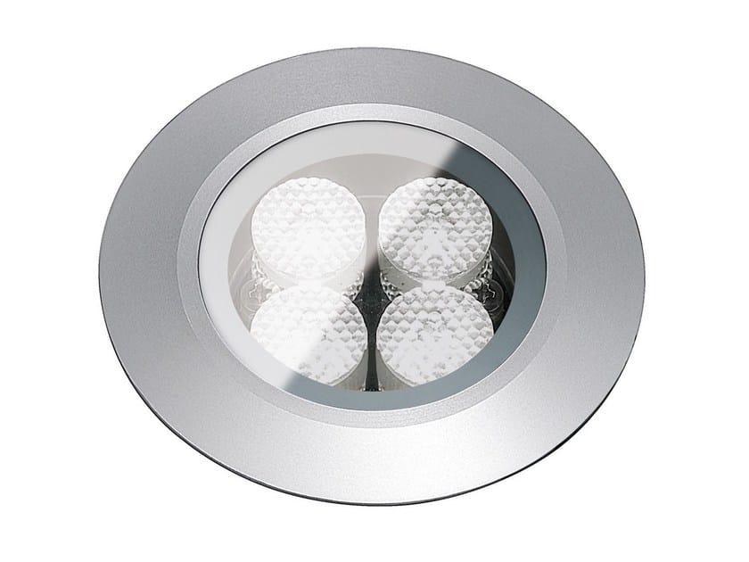 Segnapasso a LED a pavimento in metallo per esterni FLEA.T80   Segnapasso in metallo by Francesconi & C.