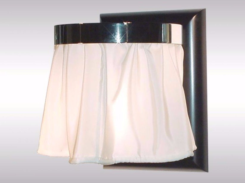 Indirect light silk wall lamp FLEDERMAUS by Woka Lamps Vienna