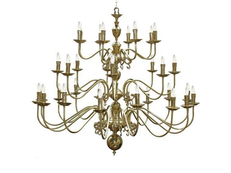 Direct light handmade chandelier FLEMISH CHANDELIER 16+8+8 ARM by Mullan Lighting