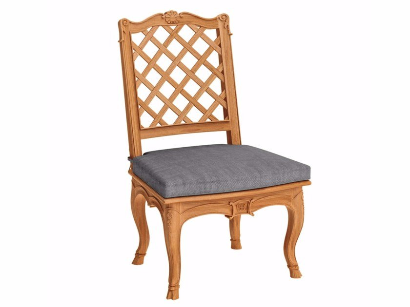 Teak garden chair FLEUR DE LYS   Garden chair by ASTELLO