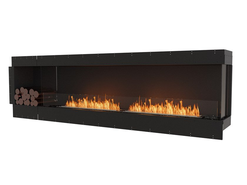 FLEX 104RC BXL Flex 104RC BXL Right Corner Fireplace Left Box by EcoSmart Fire