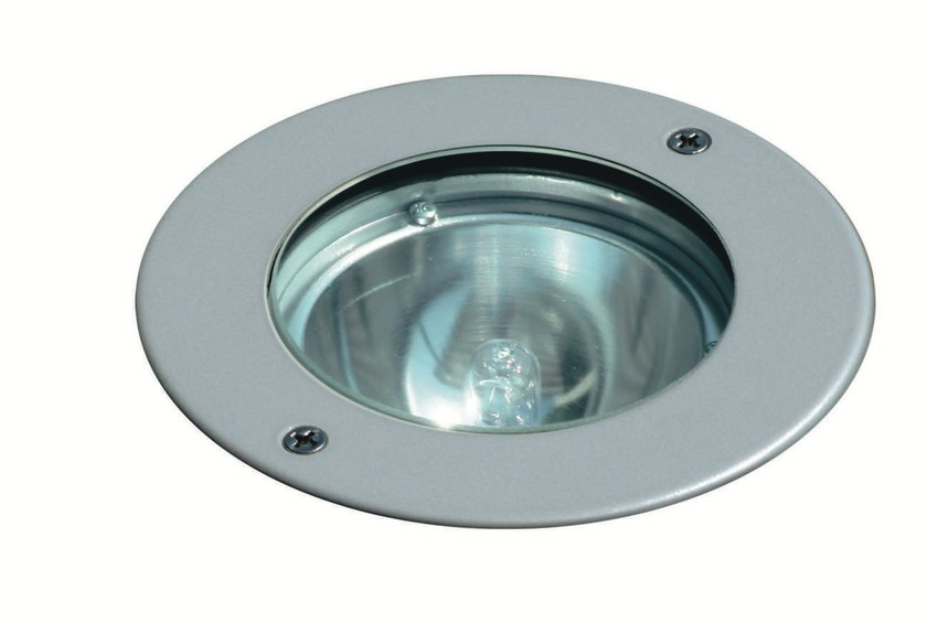 Walkover light halogen die cast aluminium steplight FLEX F.1023 by Francesconi & C.