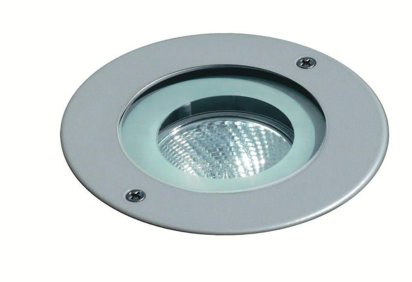 Walkover light halogen die cast aluminium steplight FLEX F.1024 by Francesconi & C.