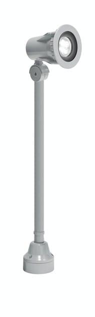 LED adjustable aluminium Outdoor floodlight FLEX F.4043 by Francesconi & C.