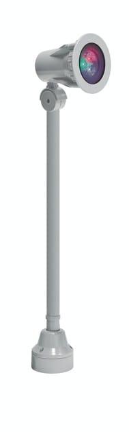 LED RGB aluminium Outdoor floodlight FLEX F.4044 by Francesconi & C.