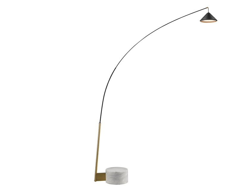 LED carbon floor lamp with dimmer FLEX | Floor lamp by Seyvaa