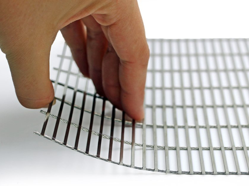 Spot-welded wire grid of stainless steel FLEXFLAT by MeshArt™