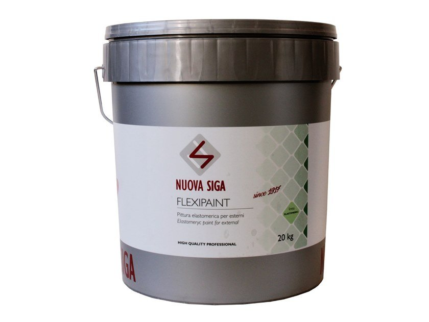 Fibre-reinforced and special plaster / exterior finish FLEXI-R by NUOVA SIGA