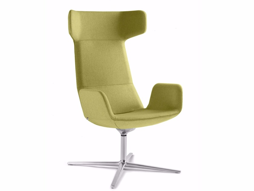 Swivel executive chair with armrests FLEXI XL-BR-F27 by LD Seating