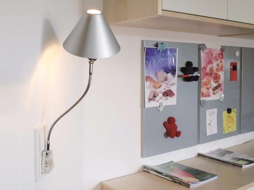 Lampada da presa orientabile flexlight plug top light