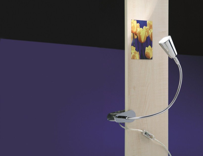 Lampada con morsetto orientabile FLEXLIGHT SPRING by Top Light