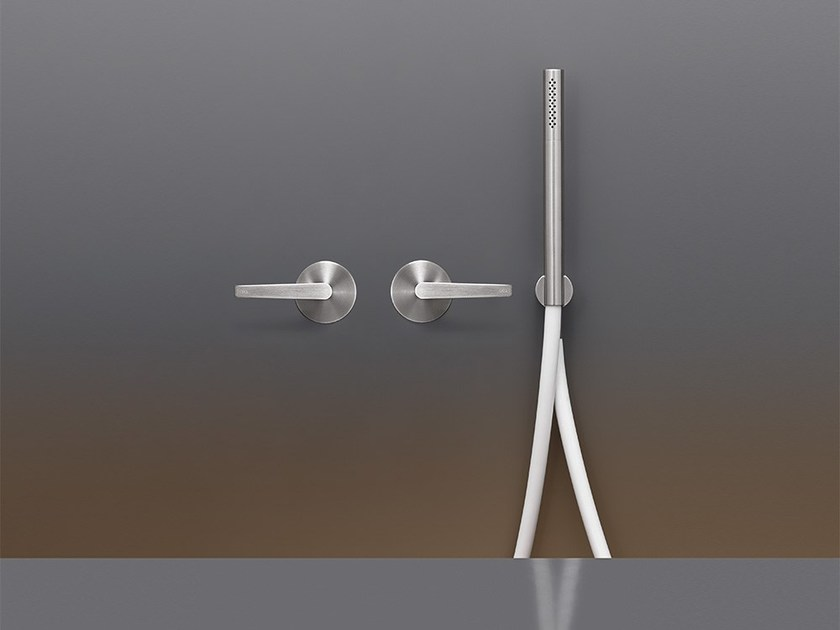 Set of 2 hydroprogressive mixers for bath/shower FLG 21 by Ceadesign