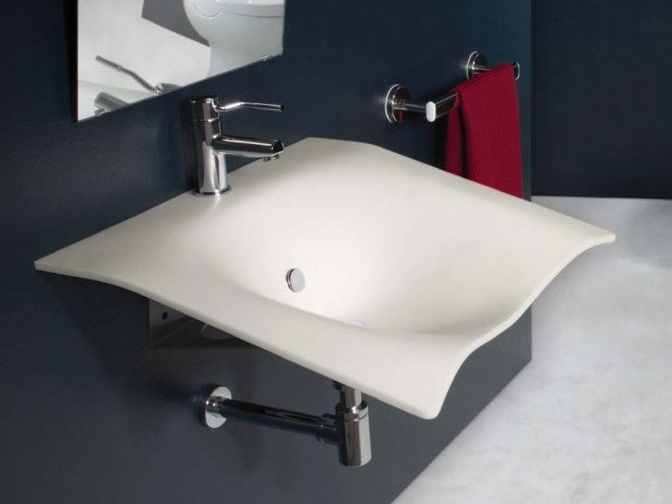 Lavabo in Corian® FLIGHT by Goman