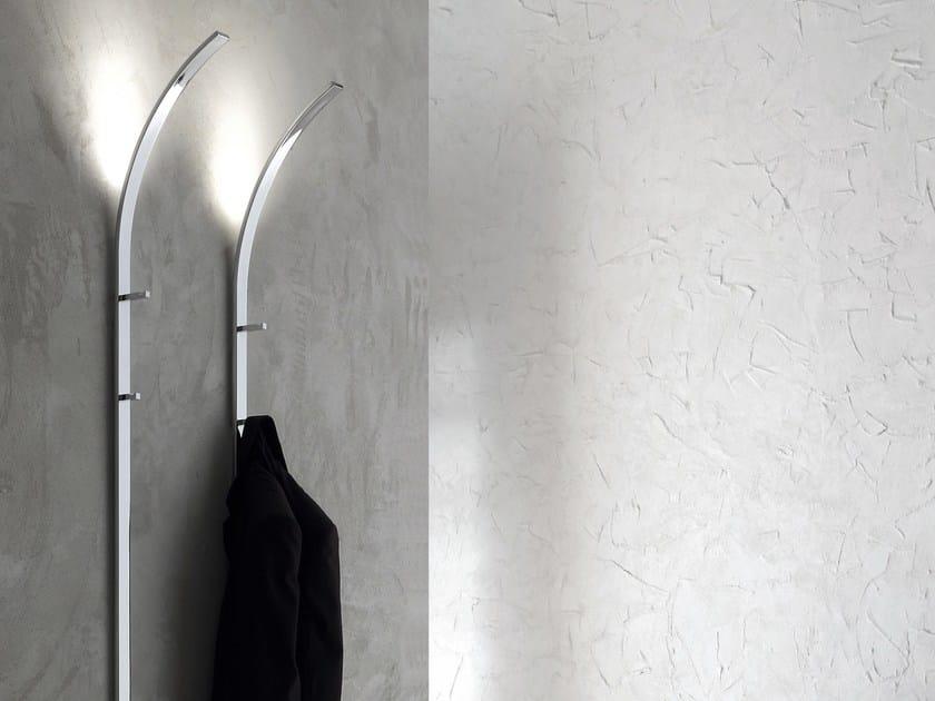 Wall-mounted steel coat rack FLINT by IDEAS Group