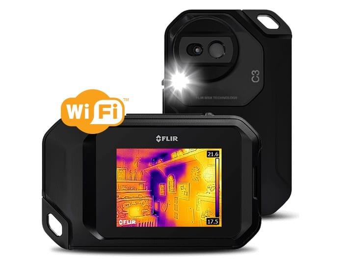 Termocamera compatta con Wi-Fi FLIR C3 by FLIR Systems