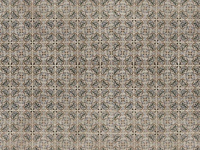 Motif floor glass-fibre textile FLO-12 by MOMENTI