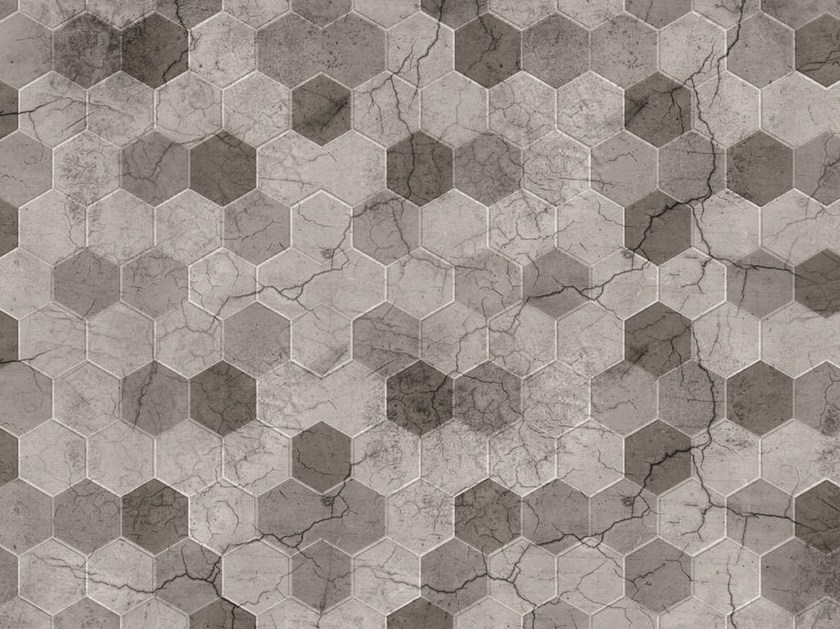 Geometric floor textile FLO-19 by MOMENTI