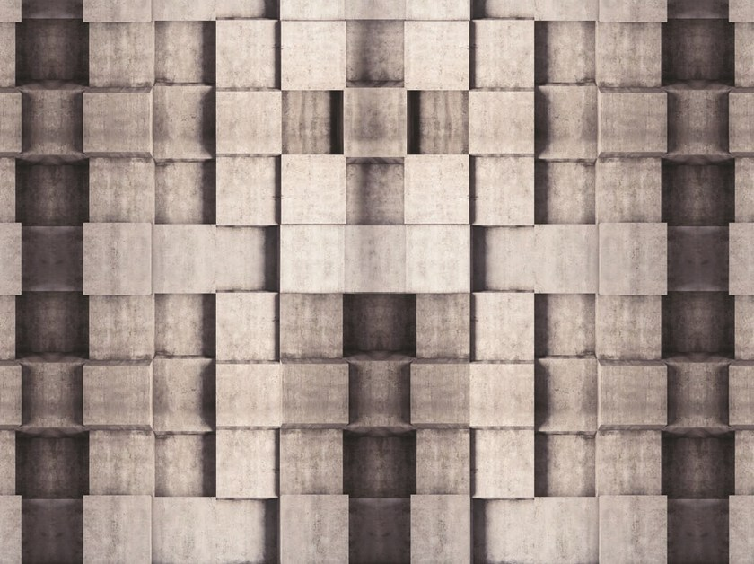 Check geometric floor textile FLO-20 by MOMENTI