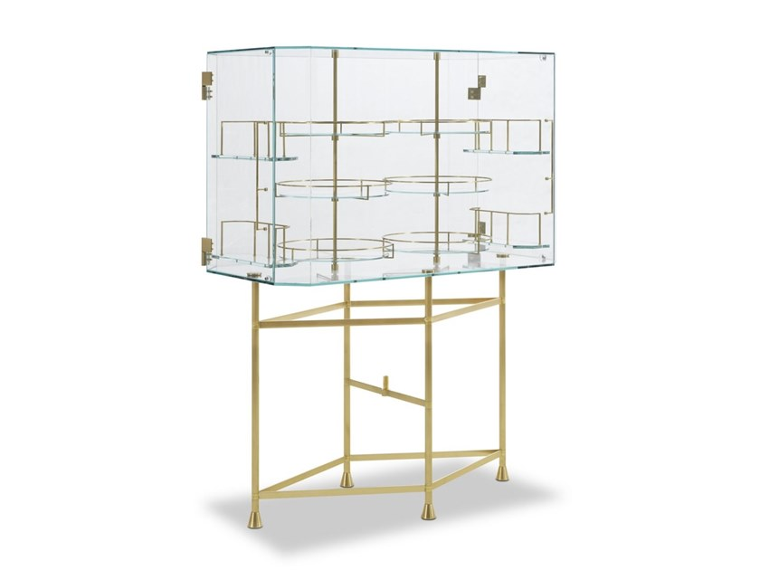 Glass bar cabinet FLOAT by BAXTER