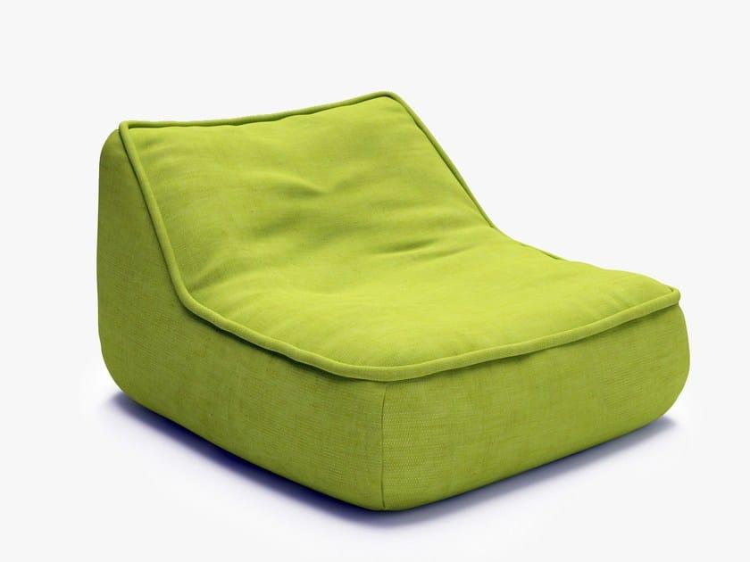 Bean bag FLOAT | Garden armchair by paola lenti