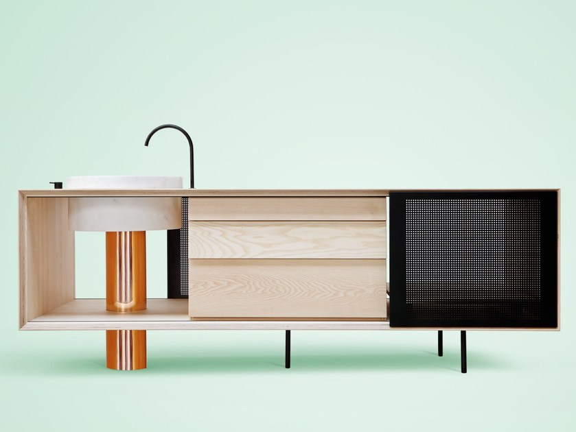 Ash Mini Kitchen FLOAT | Mini Kitchen by Miras