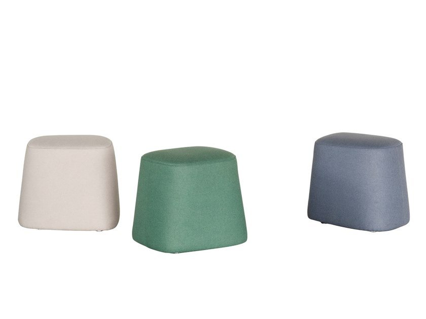 Pouf in tessuto FLOAT by Tacchini