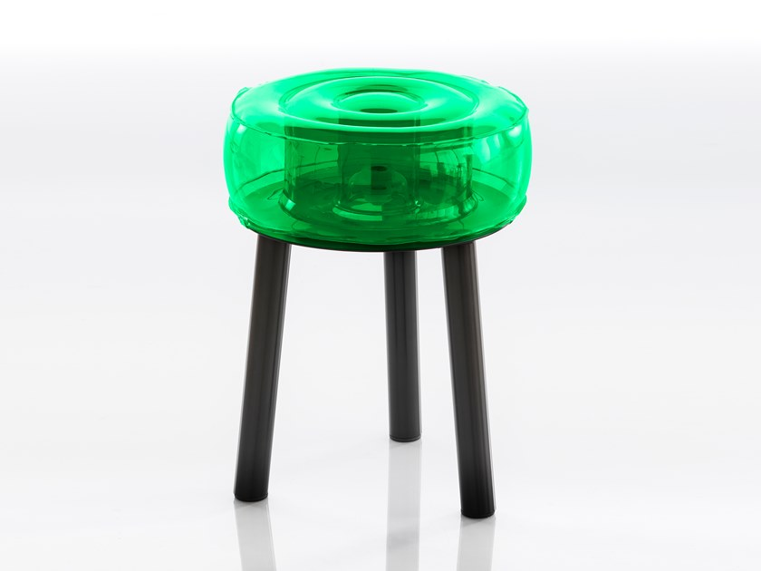 Sgabello in poliuretano termoplastico FLOOFY EKO by Mojow