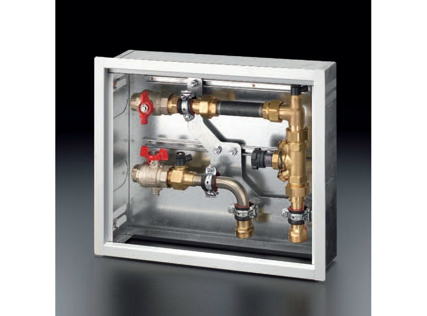 Heat regulation and hygrometric control FLOORBOX by OVENTROP