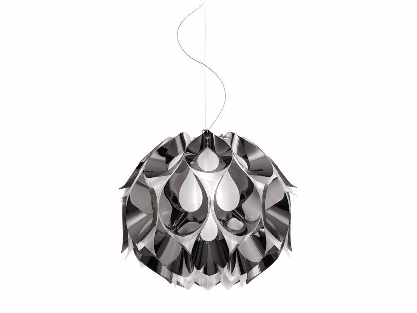 Led pendant lamp flora pewter by slamp design zanini de zanine led pendant lamp flora pewter by slamp aloadofball Gallery