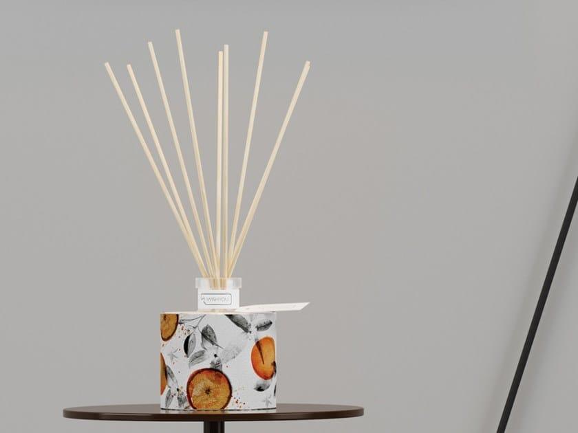 Natural stone Air freshener dispenser FLORESSENCE Prestige - Tabacco e Agrumi by IWISHYOU