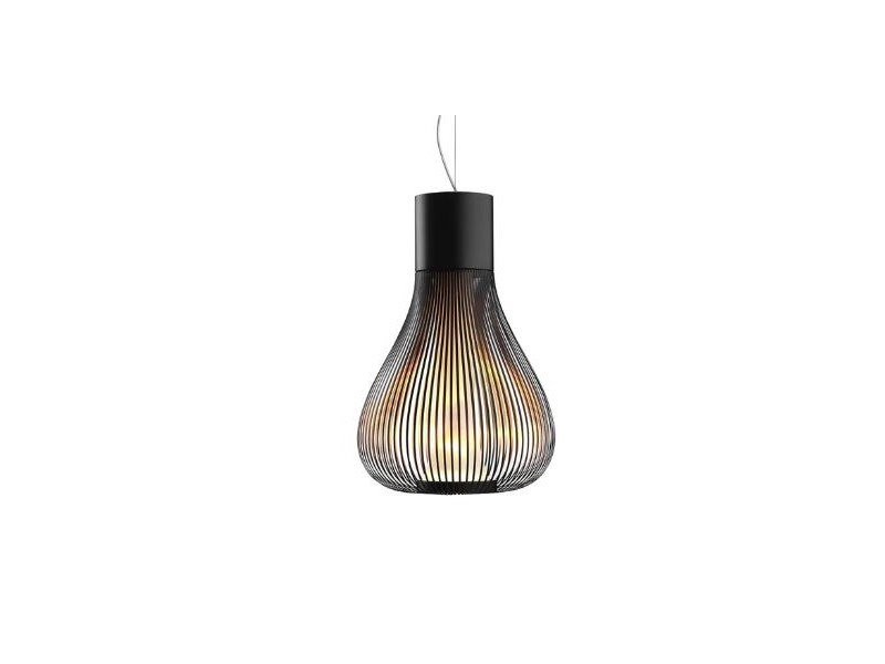 Pendant lamp FLOS - CHASEN Black by Archiproducts.com