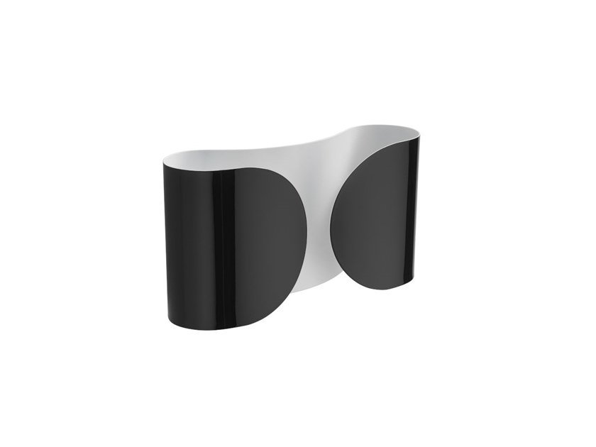 Wall lamp FLOS - FOGLIO Black by Archiproducts.com