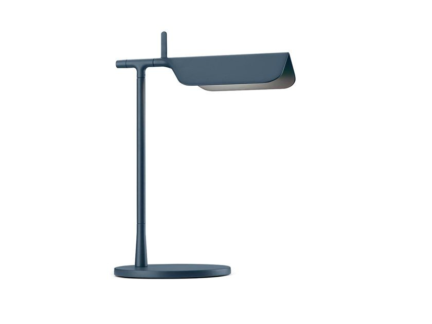 LED die cast aluminium table lamp FLOS - TAB T BLUE MATT by Archiproducts.com