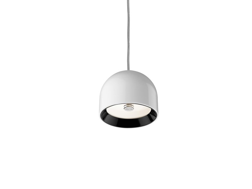 Aluminium pendant lamp FLOS - WAN S White by Archiproducts.com