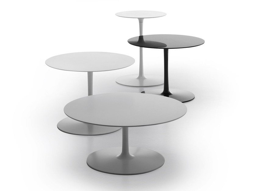 Round coffee table FLOW LOW TABLES by MDF Italia