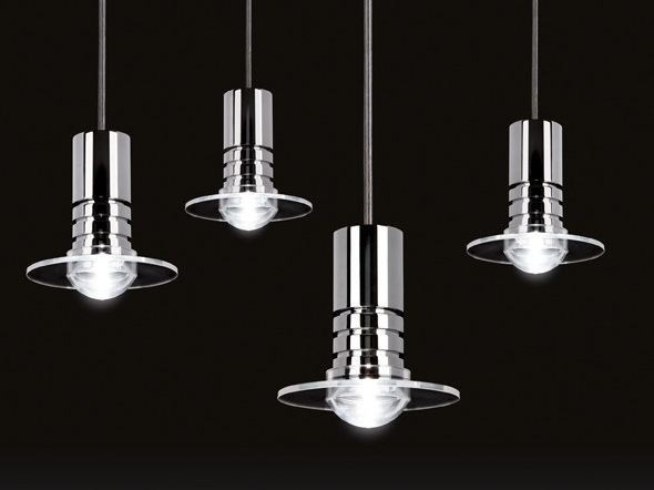 LED aluminium pendant lamp FLOWER DROPS by Quicklighting