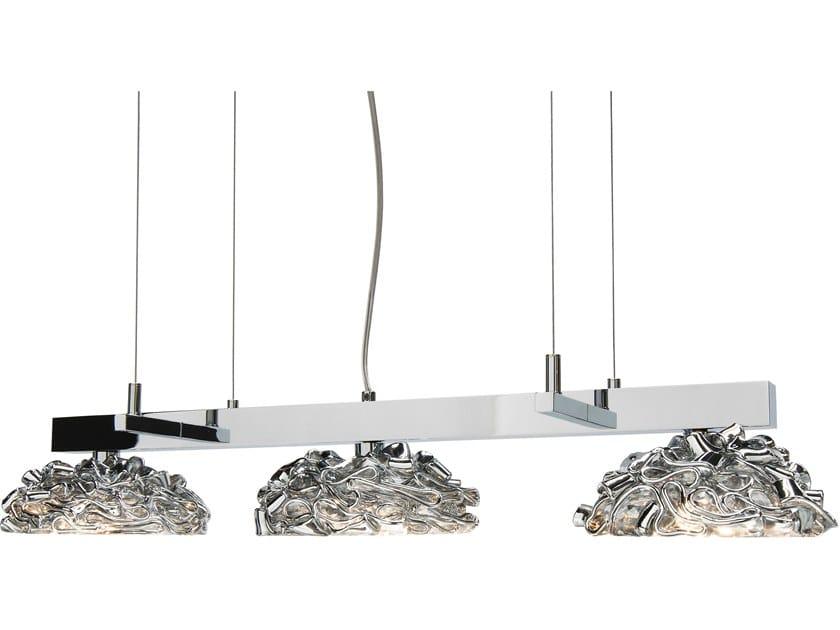Metal pendant lamp FLOWER FROM AMSTERDAM H3 by ILFARI