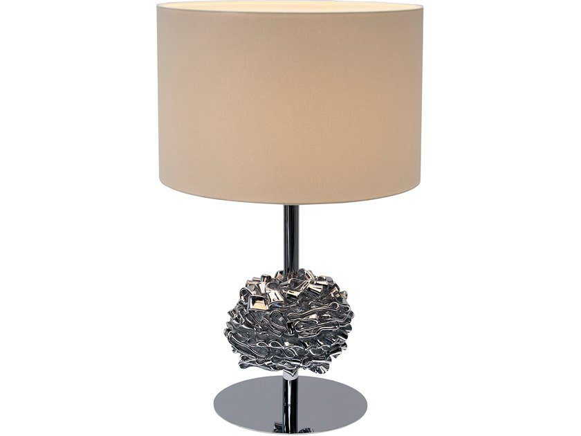 Direct-indirect light fabric table lamp FLOWER FROM AMSTERDAM T1 by ILFARI
