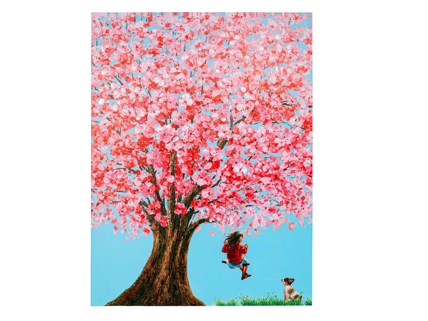 Stampa su tela FLOWER GIRL by KARE-DESIGN