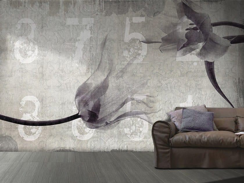 Vinyl or fyber glass wallpaper FLOWER IN LOVE by N.O.W. Edizioni